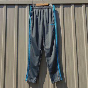 Adidas 3-Stripes Grey and Blue Sweatpants